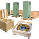 Wood Crate Die Cut