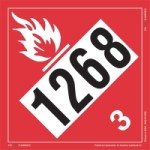 DOT Placard Labels