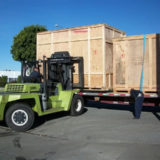 Large Wood Shipping Crate Orange County CA