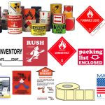 Stock Labels and Custom Labels Available