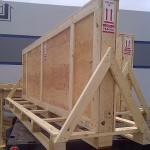 Wood Crate A Frame