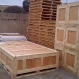 Large Wood Shipping Crates
