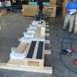 Wood Crate Foam Pallet