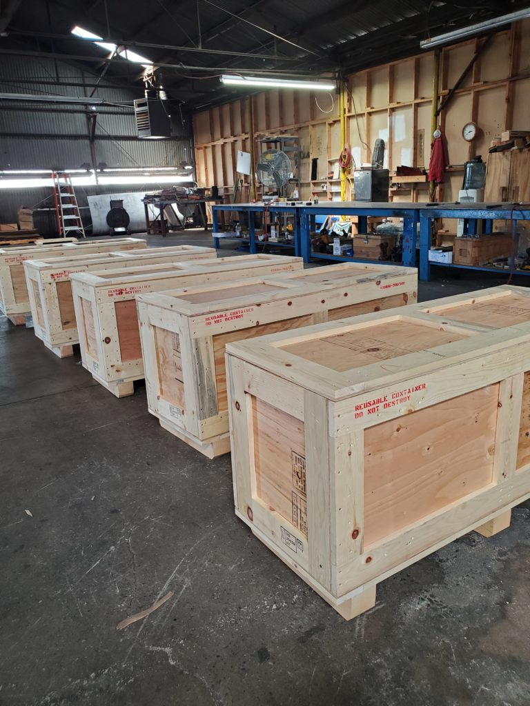 made to order shipping wood crate
