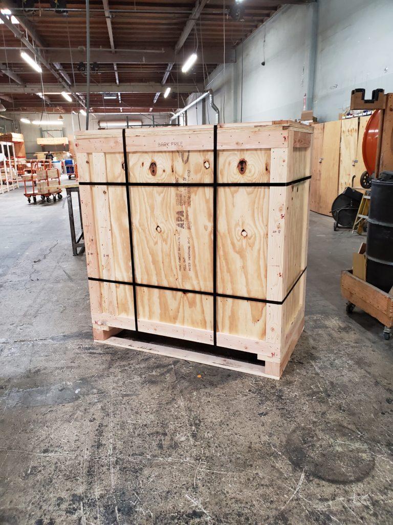 ispm 15 heat treated wood crates