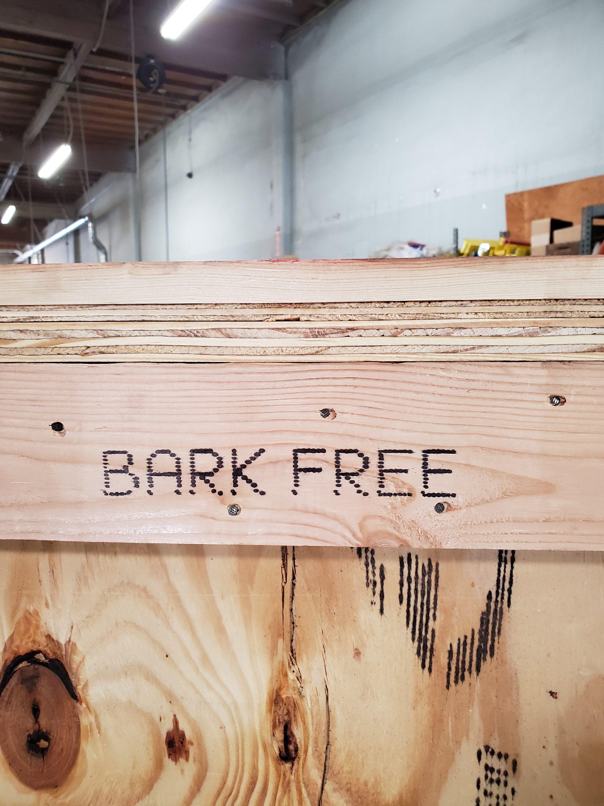 heat treated wood crate