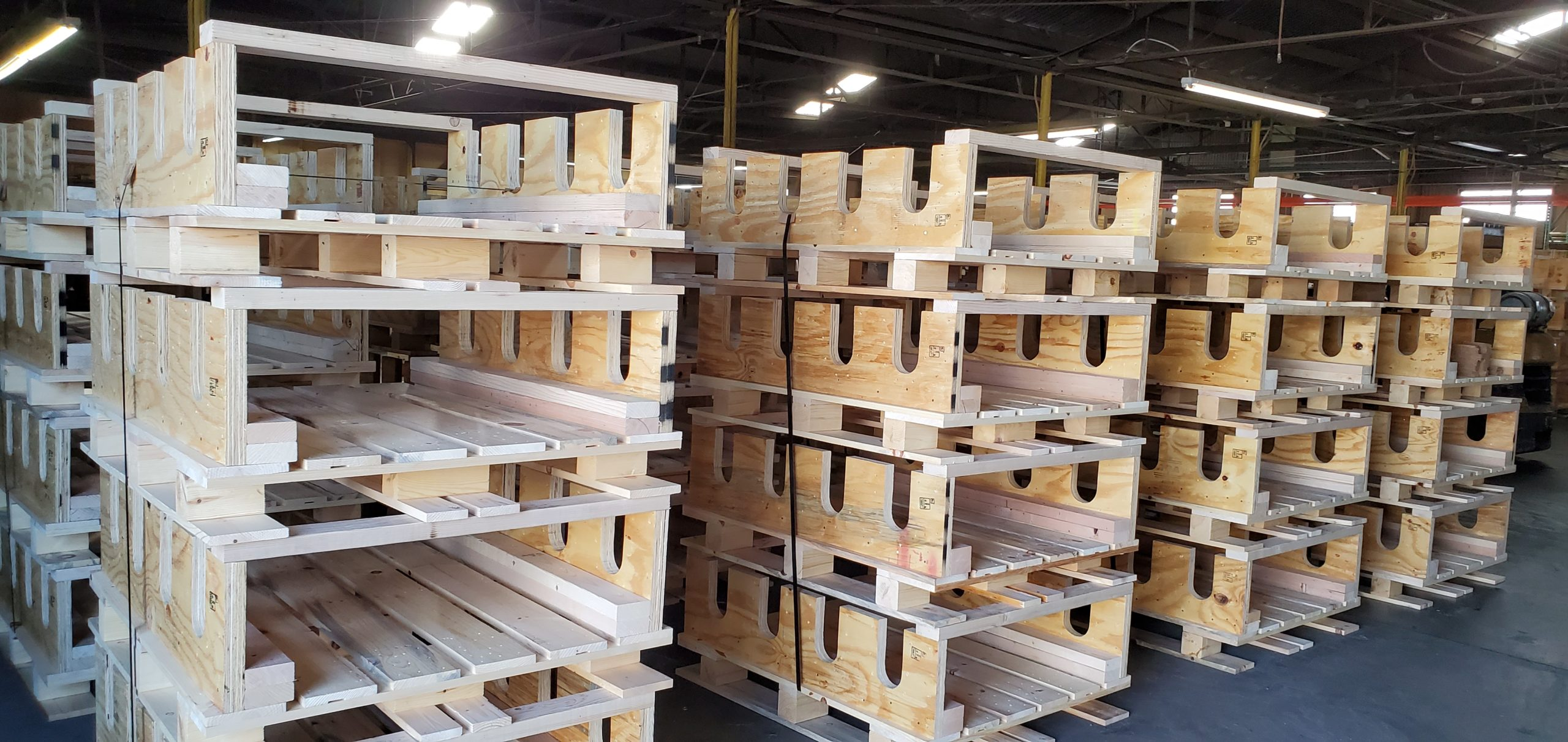 Knock Down Wooden Crates