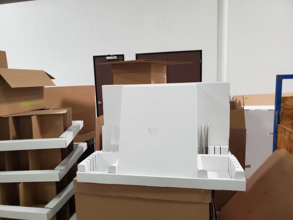 Custom Cardboard Display