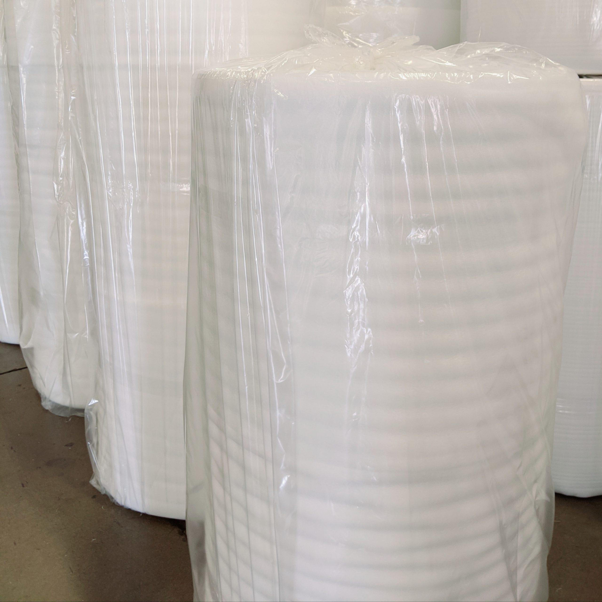 Packing Foam Rolls Split Perforated