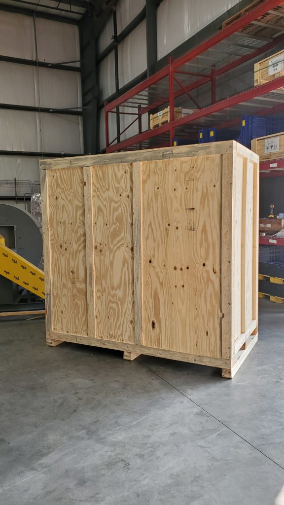Custom Wood Shipping Crates