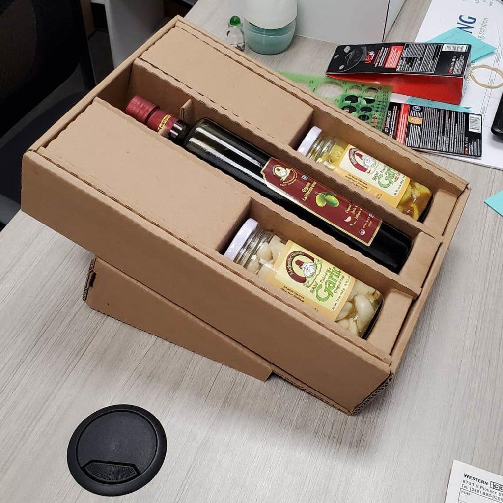 Display and Shipping box